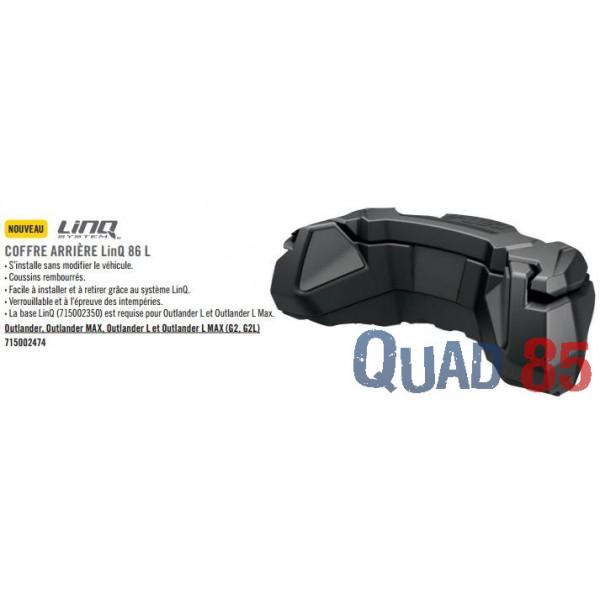 coffre rigide pour quad