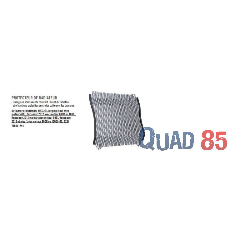 Protection de radiateur Renegade G2